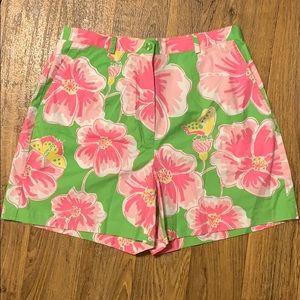 Lilly Pulitzer shorts sz 10 EUC